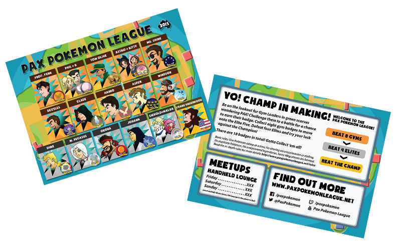 Trainer Cards!